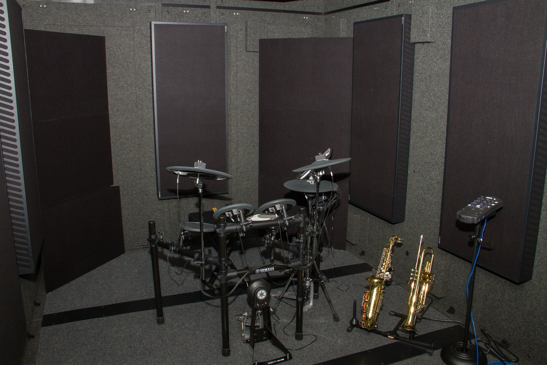 garden street academy instrument booth yamaha electronic drums