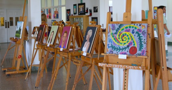 Garden Street Academy Student Artwork on Display During Arts Week