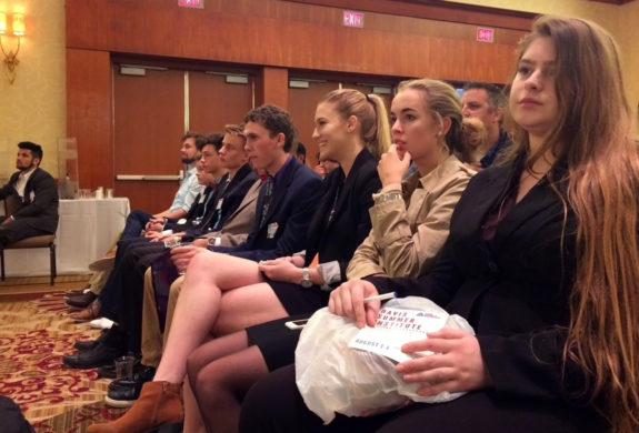 Garden Street Academy Students Attend Junior State America Meeting