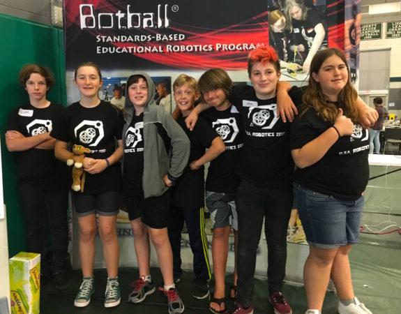Garden Street Academy Middle School Robotics Team BotBall Tournament