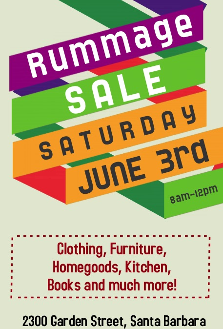 Garden Street Academy Rummage Sale 2017 Flyer
