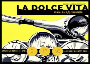 Garden Street Academy Auction 2016 La Dolce Vita