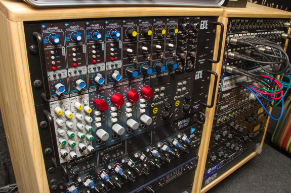 Garden Street Academy Recording Studio Mic Preamps and Equalizers