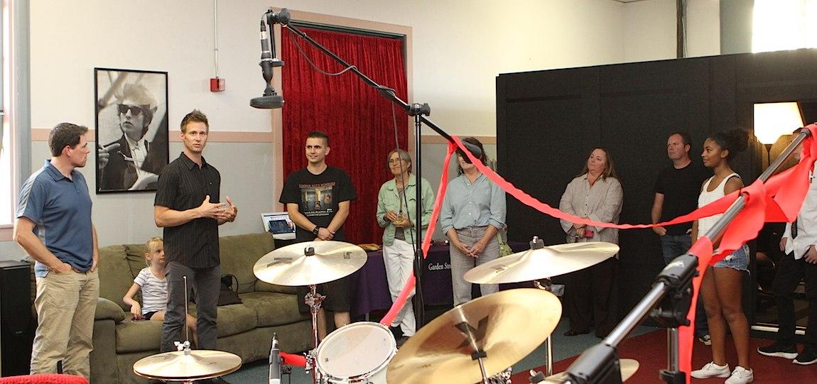 Ian Putnam Garden Street Academy Recording Studio Opening