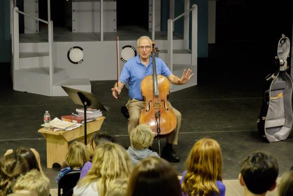 John Sant' Ambrogio Speaking to Students at Garden Street Academy