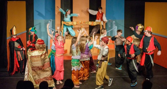 Garden Street Academy Lower School Students Perform Disney's Alladin KIDS