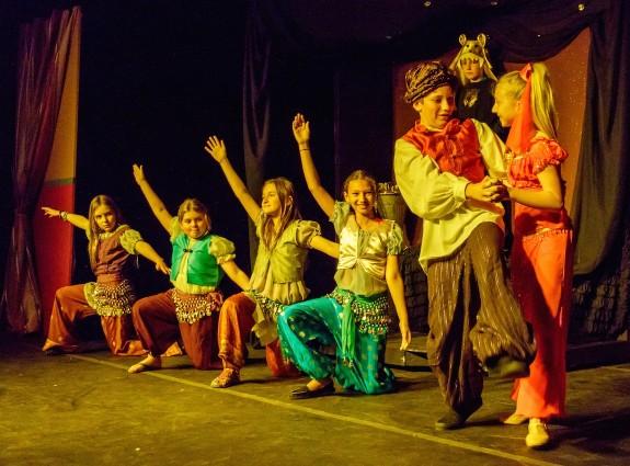 Garden Street Academy Presents Disney's Alladin KIDS - Alladin and Genie in Cave of Wonders