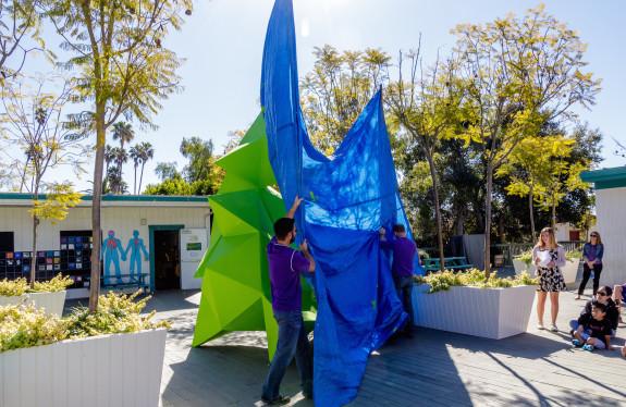 Reverse Entropy Sculpture Unveiled at Garden Street Academy