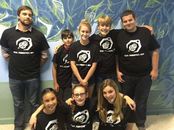 Garden Street Academy's 2015 Botball Robotics Team
