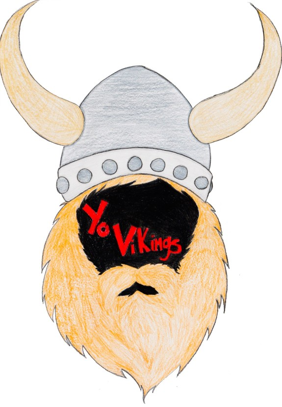 """Yo, Vikings!"" Middle School Play Poster"