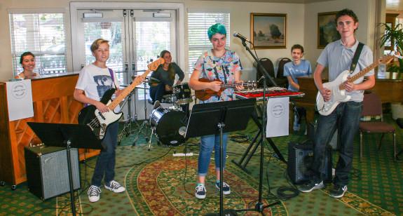 The Garden Street Academy Jazz Band at Garden Court Retirement Community