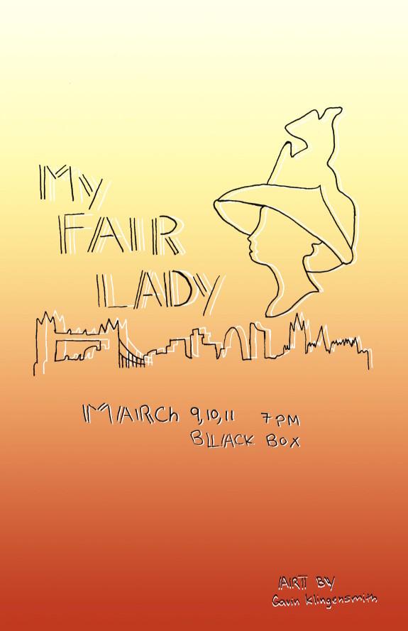 Garden Street Academy My Fair Lady Play Poster