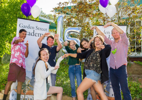 Garden Street Academy High School Students Celebrate Fifteenth Year