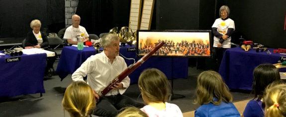 Music Van Presentation to Garden Street Academy's Lower School