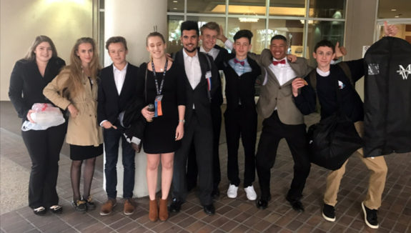 Garden Street Academy Students Attend Junior State America Meeting