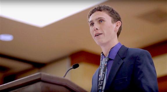 Max Sweeney JSA Lieutenant Governor Declaration Speech