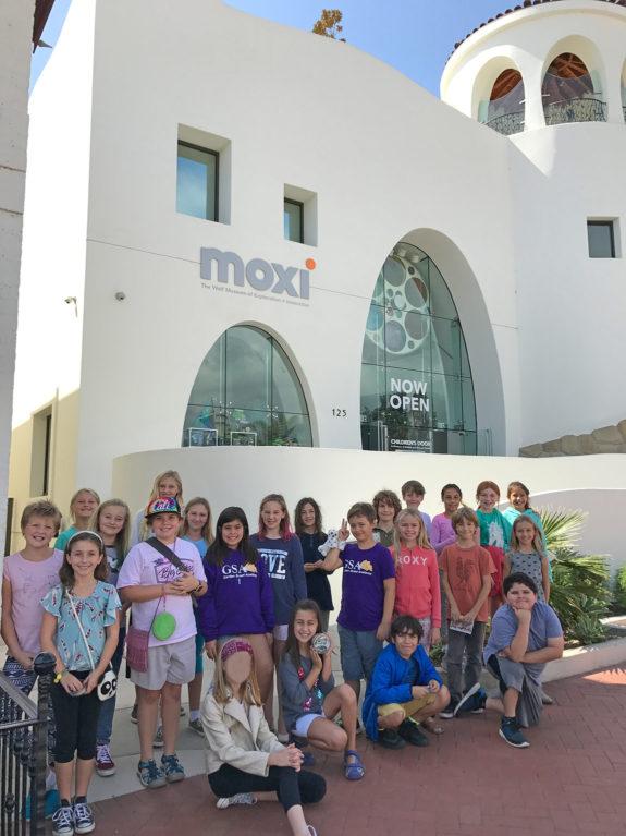 Garden Street Academy Elementary Students at Moxi Museum