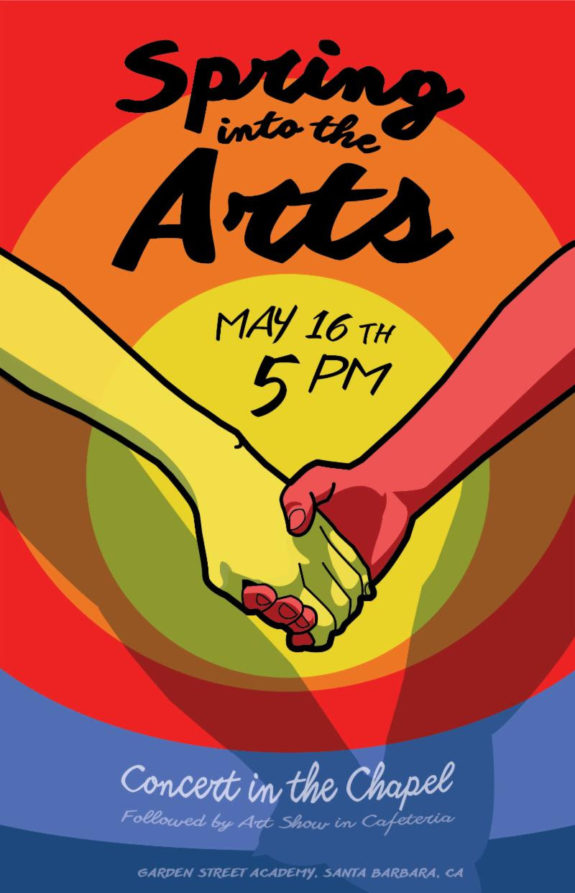 Spring into the Arts Poster 2018