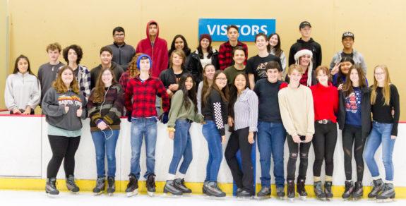 Garden Street Academy High School Students Visit Ice in Paradise