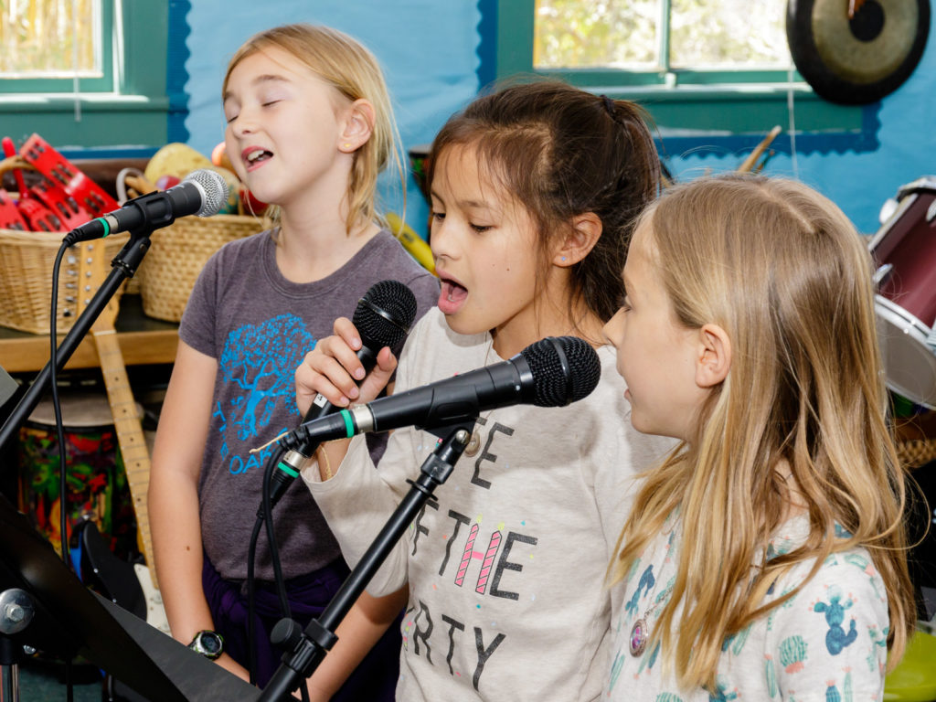 Garden Street Academy Summer Camps Music Camp in Studio