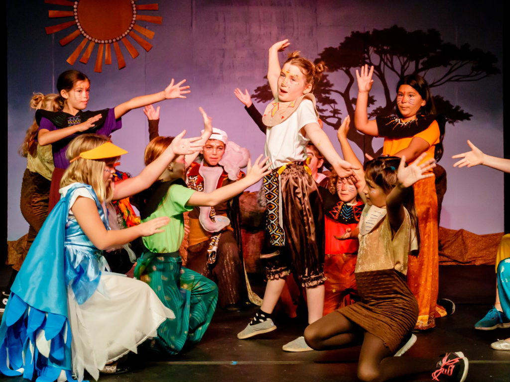 Garden Street Academy Summer Camps Theater Camp Lion King