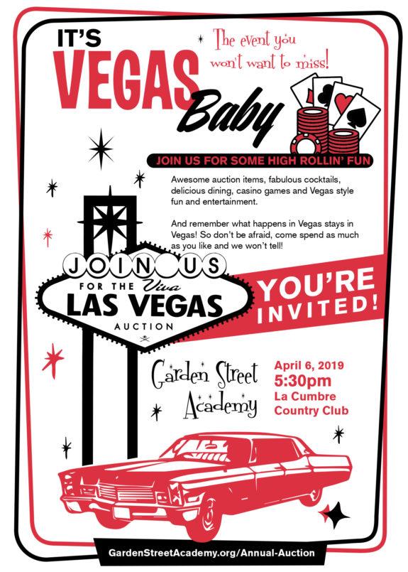 Garden Street Academy Viva Las Vegas Annual Auction 2019