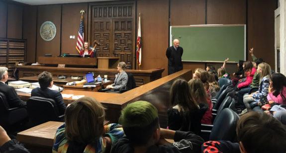 Garden Street Academy Students Visit Santa Barbara Courthouse