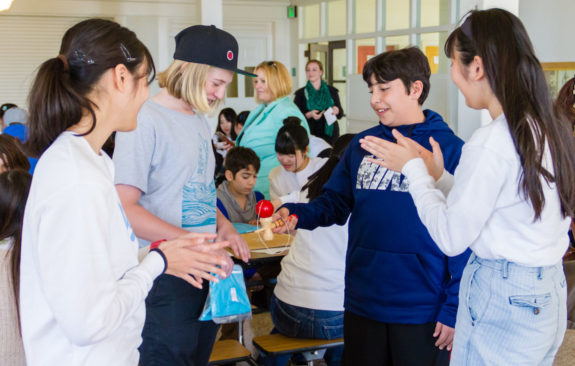 Yakumo Academy Visits Garden Street Academy